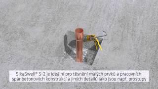 SikaSwell - řešení pro vodonepropustné betonové konstrukce