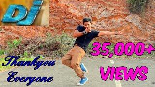 Dj seeti maar i allu arjun song dance i simple dance i telugu hero dance l new song l full song