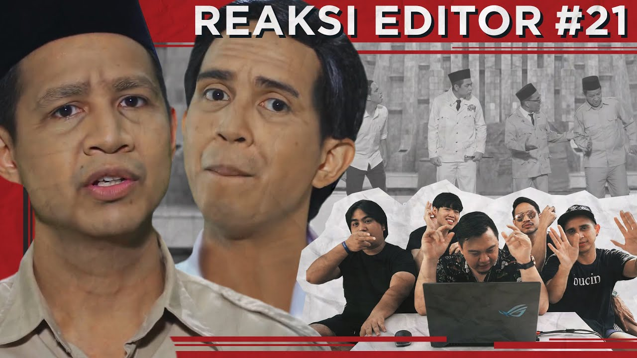 Reaksi Editor Indonesia 21 : PRABOWO VS JOKOWI