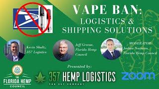 Vape Ban: Logistics & Shipping Solutions with 357 Logistics