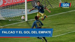 Gol de Falcao García en Chile vs Colombia - Eliminatorias Sudamericanas