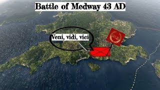 Battle of Medway 43 AD Roman conquest of Britain documentary.