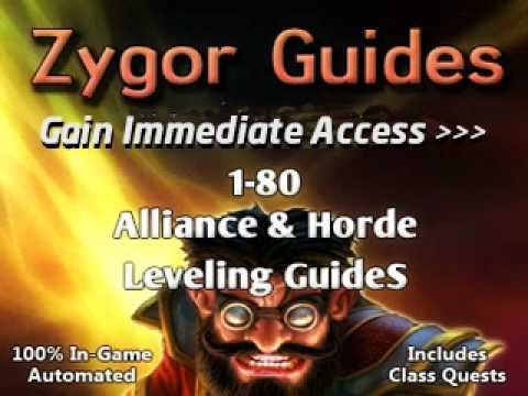 Alliance And Horde World Of Warcraft Zygor Leveling Guides: We Get You To Level 80 In Under 7 Days