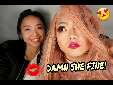 MY HUSBAND IS HOTTER THAN ME?! (DRAG QUEEN INSPIRED LOOK!)