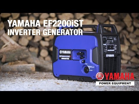 Yamaha Generators: The EF2200iST - YouTube