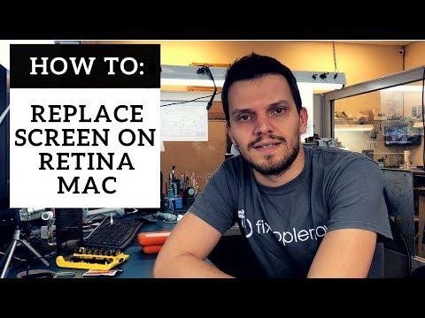 """A1502 MacBook Pro 13"""" Retina LCD Screen Repair - LCD Replacement Fix Guide - DIY"""
