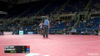 126 Cons. Round 3 - Baltazar joel Gonzalez (Connecticut) vs. Gary Joint (Kansas)