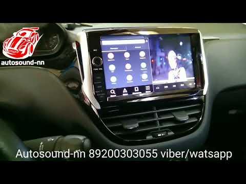 """Штатная Магнитола Peugeot 208 8"""" Android 6.0"""