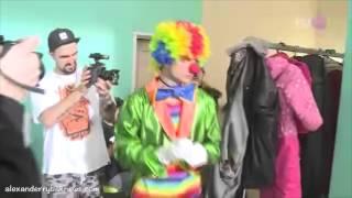 Съемки клипа Александра Рыбака на песню