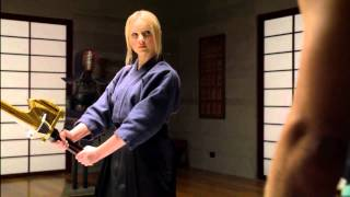 Power Rangers Super Samurai - The Great Duel - Lauren's Training