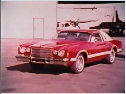 1977 Dodge Charger And Charger Daytona Dealer Promo Film
