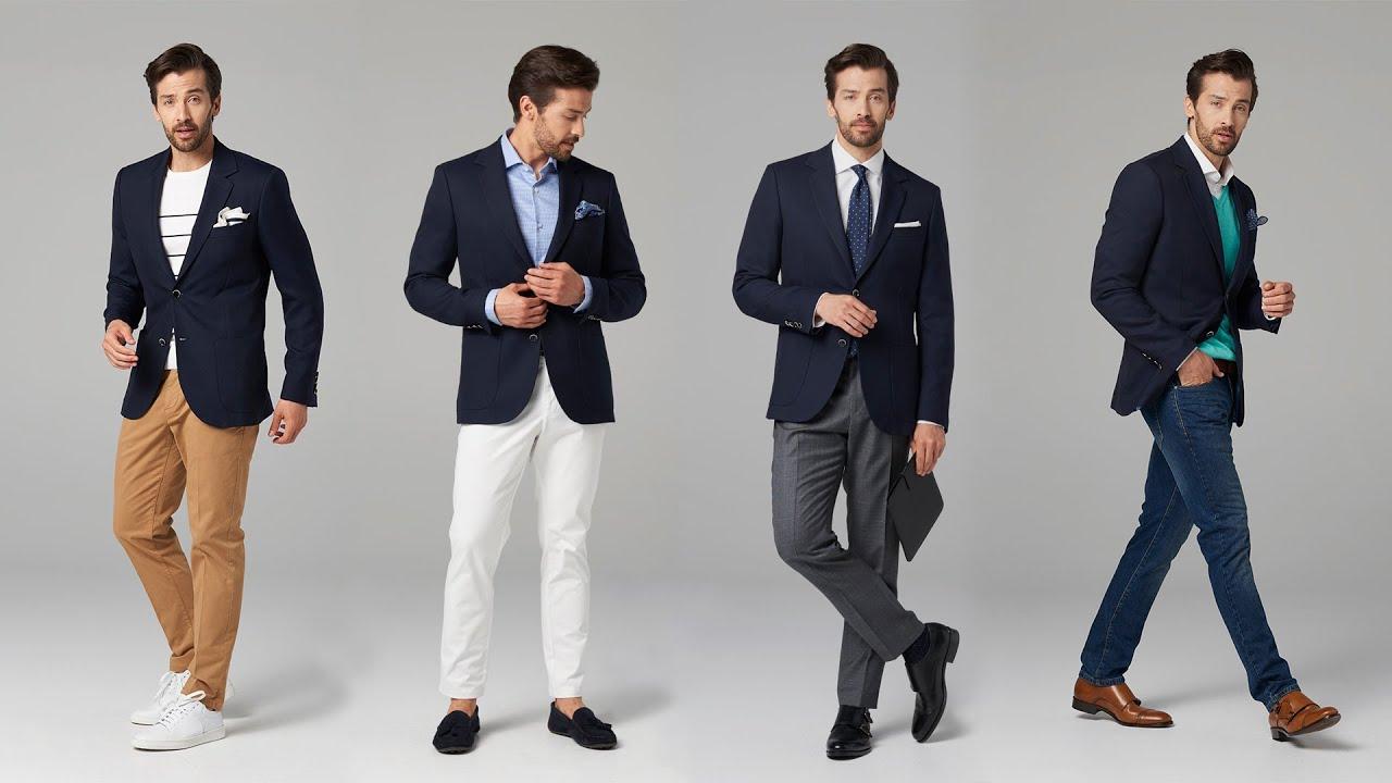 41acda9030373 Jedna rzecz na cztery sposoby #3 – Granatowa marynarka   Mr Vintage -  rzeczowo o modzie męskiej - Porady i Blog