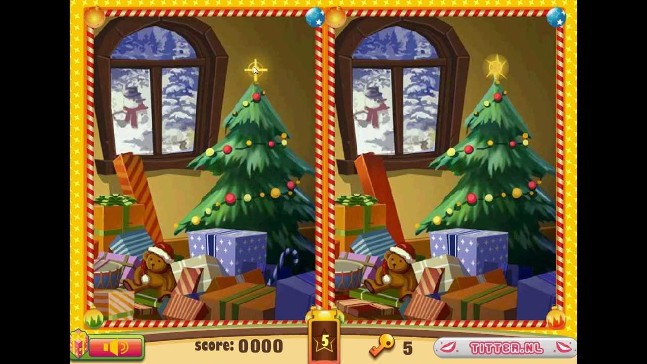suche die unterschiede weihnachten weihnachtsspiele tessaspiele de