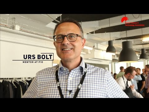 Urs Bolt – Mentor at F10: How to become a successful young entrepreneur