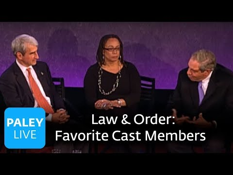 Law & Order: 20 Years - Favorite Cast Members (Paley Center Interview)