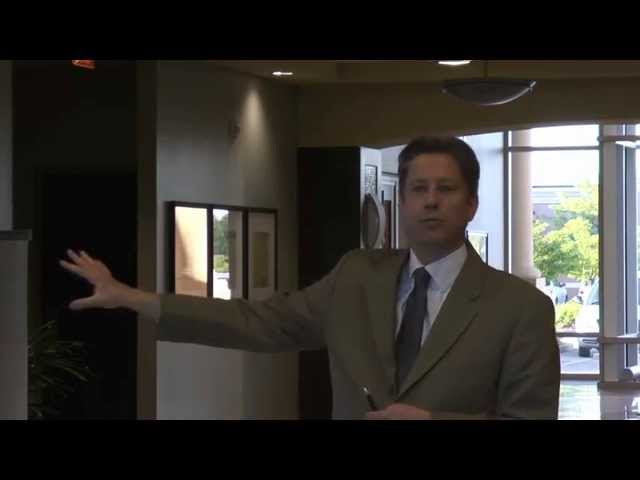 Dr. Hamilton speaks at his Spring Beauty Event