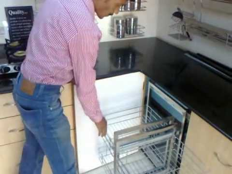 Vinay kitchen trolley aurangabad youtube for Kitchen trolley designs for small kitchens