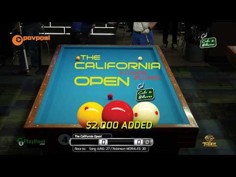 #1 - Sam JUNG vs Robinson MORALES / The 2018 California Open!