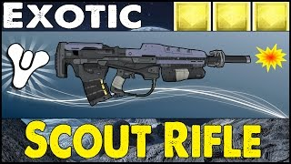 "Destiny: How the First Person Received The ""Fate of All Fools"" Exotic Scout Rifle"