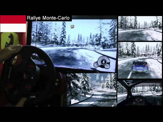 WRC 3 Monte Carlo single stage