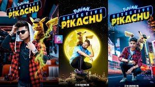 PicsArt PIKACHU Photo editing tutorial in picsart Step by Step in Hindi - Pikachu viral photo edit