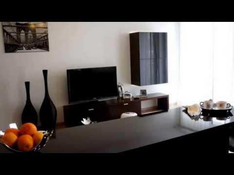 М дизайн квартир.  Современный дизайн квартиры студии 34 кв. м