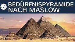 Bedürfnispyramide nach Maslow einfach erklärt - Aufbau, Bedeutung, Anwendung