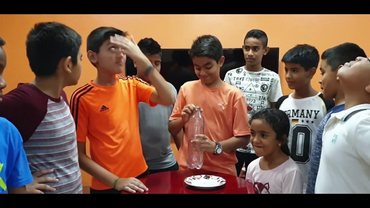 Water Bottle Prank Kids Magic Trick