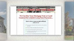 Sell Mortgage Note in Arlington, Texas
