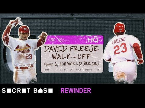 David Freese's epic World Series walk-off demands a deep rewind | 2011 Cardinals-Rangers Game 6