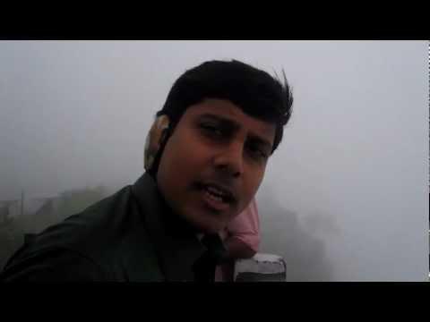 Cherrapunji - Nohsngithiang waterfalls.