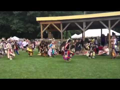Pokagon Band of Potawatomi Indians pow wow