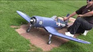 First Flight Top Flite Giant Scale Corsair ARF