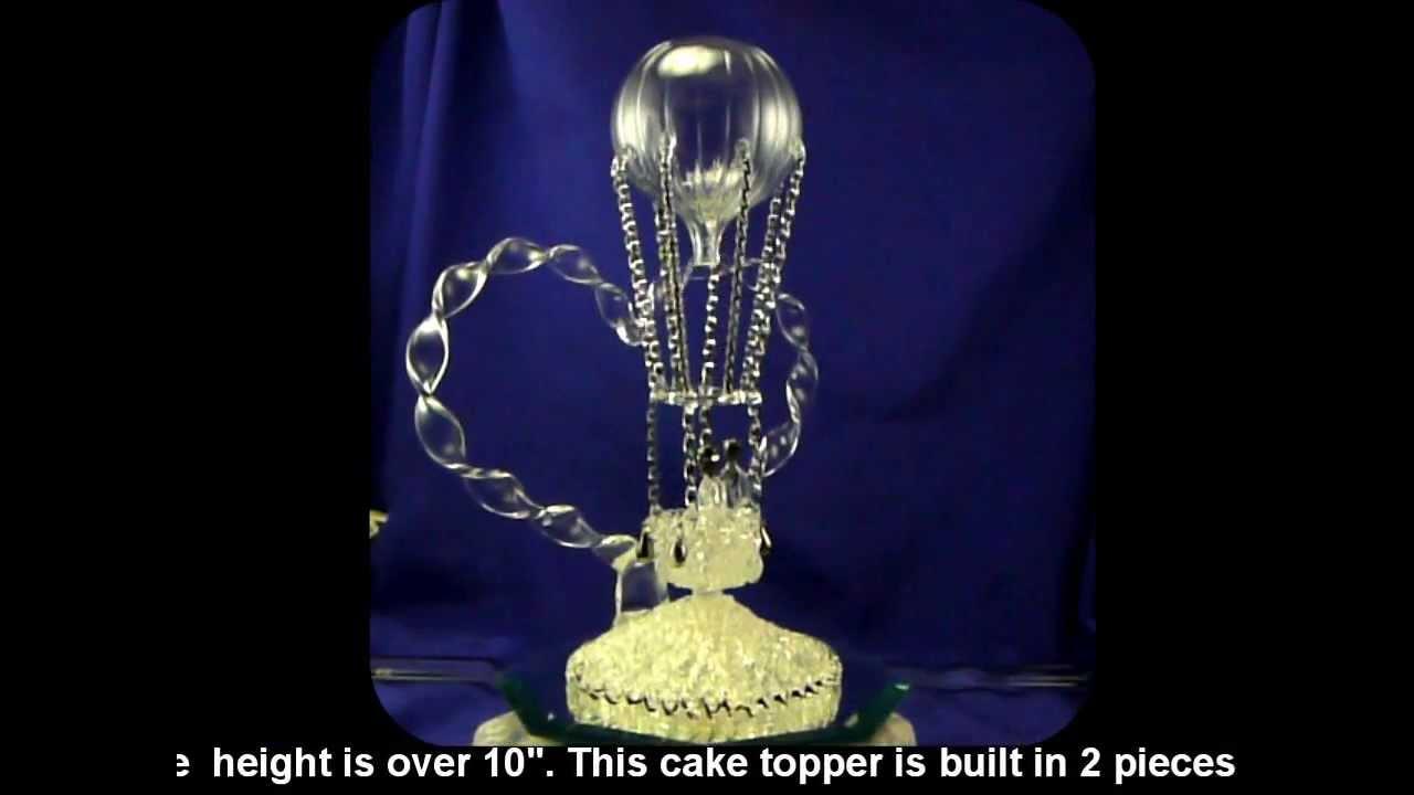 Hot Air Balloon Wedding Cake Topper