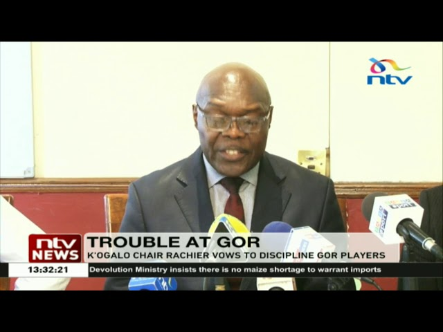 K'ogalo chairman Rachier vows to discipline Gor players