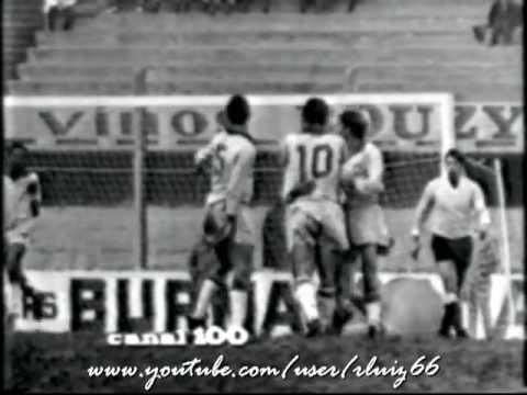 Uruguay 1 x 1 Brasil - 3 jogo Taça Rio Branco - 1967