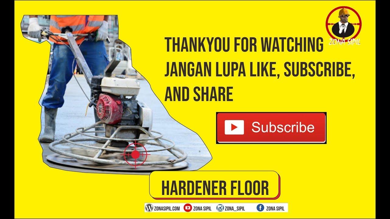 Floor Hardener APA ITU ? - YouTube