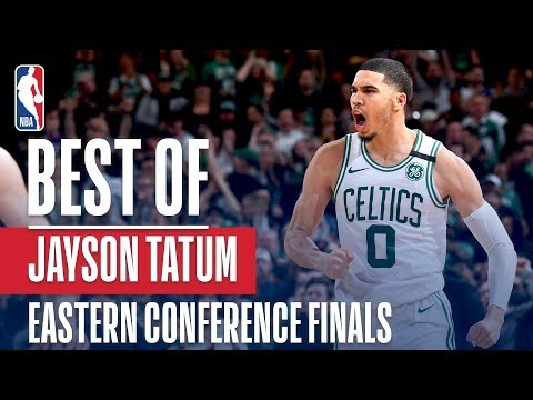 Jayson Tatum's TOP PLAYS From The 17-18 Eastern Conference Finals!