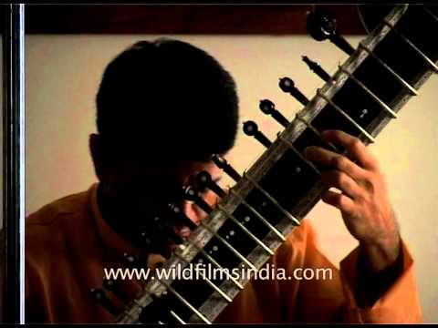 Sitar player pays tribute to the mother on her birthday at Aurobindo Ashram