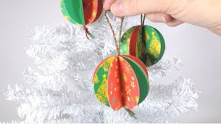 DIY Paper Bauble | Easy Christ…