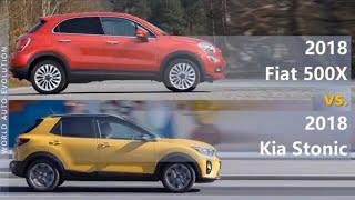 2018 Fiat 500X vs 2018 Kia Stonic (technical comparison)