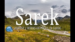 Almost 2 weeks off-trails in Sarek