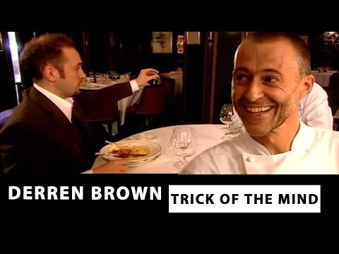 Reading Michel Roux's Mind From His Cooking - Trick Of The Mind