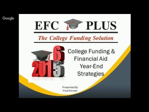 Financial Aid Year End Planning