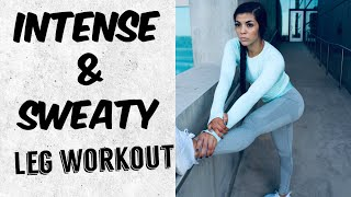 Baixar THE MOST INTENSE & SWEATY LEG & BOOTY WORKOUT! wow