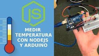 Sensor de Temperatura con Nodejs y Arduino   Express, websockets, Serialport