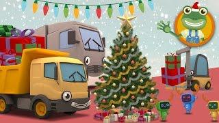 Gecko's Garage Christmas Special | Big Trucks For Children