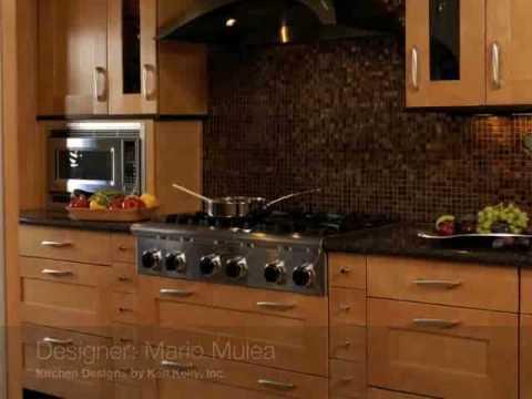 kitchen designs by ken kelly showroom design 6 merrick youtube. Black Bedroom Furniture Sets. Home Design Ideas