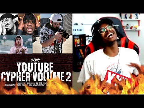 BETTER THAN XXL CYPHERS | Crypt - YouTube Cypher Vol 2 | Reaction