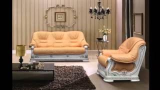 Кожаный диван(В интернет-магазине мебели